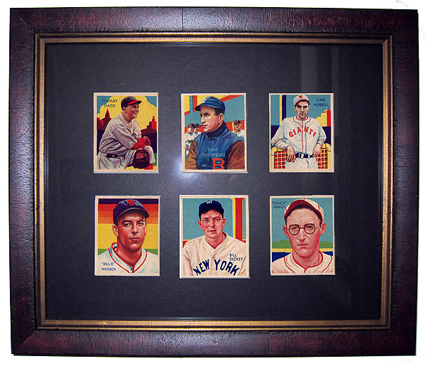 Michaeldawsoncom Enlarged View Of Baseball Cards Mikes Father